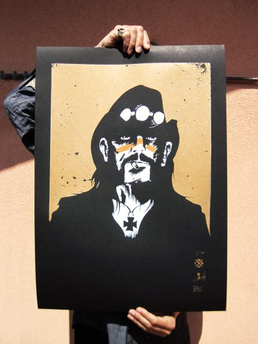 LEMMY GERONIMO, Screenprint, 2017
