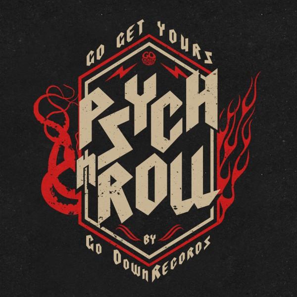 Go Down Records Merch Design, 2021